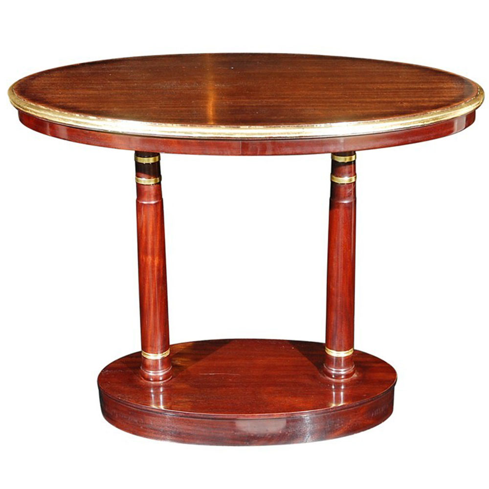 Antique Empire Side table in Mahogany