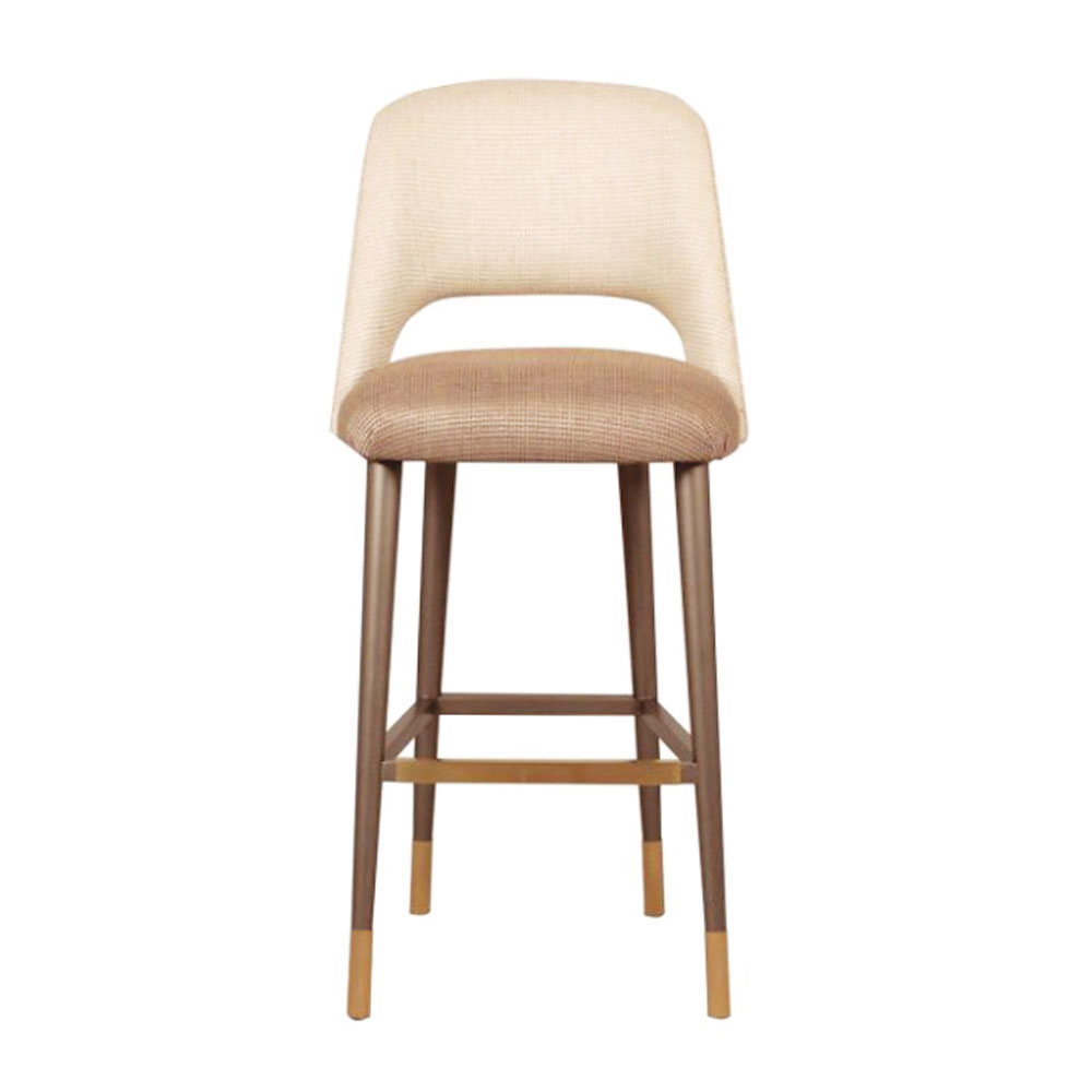 modern barstool with four legs