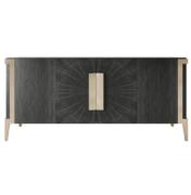 Modern Wood Sideboard with metal legs