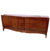 Art Deco Sideboard in rosewood wood and marquetry inlays